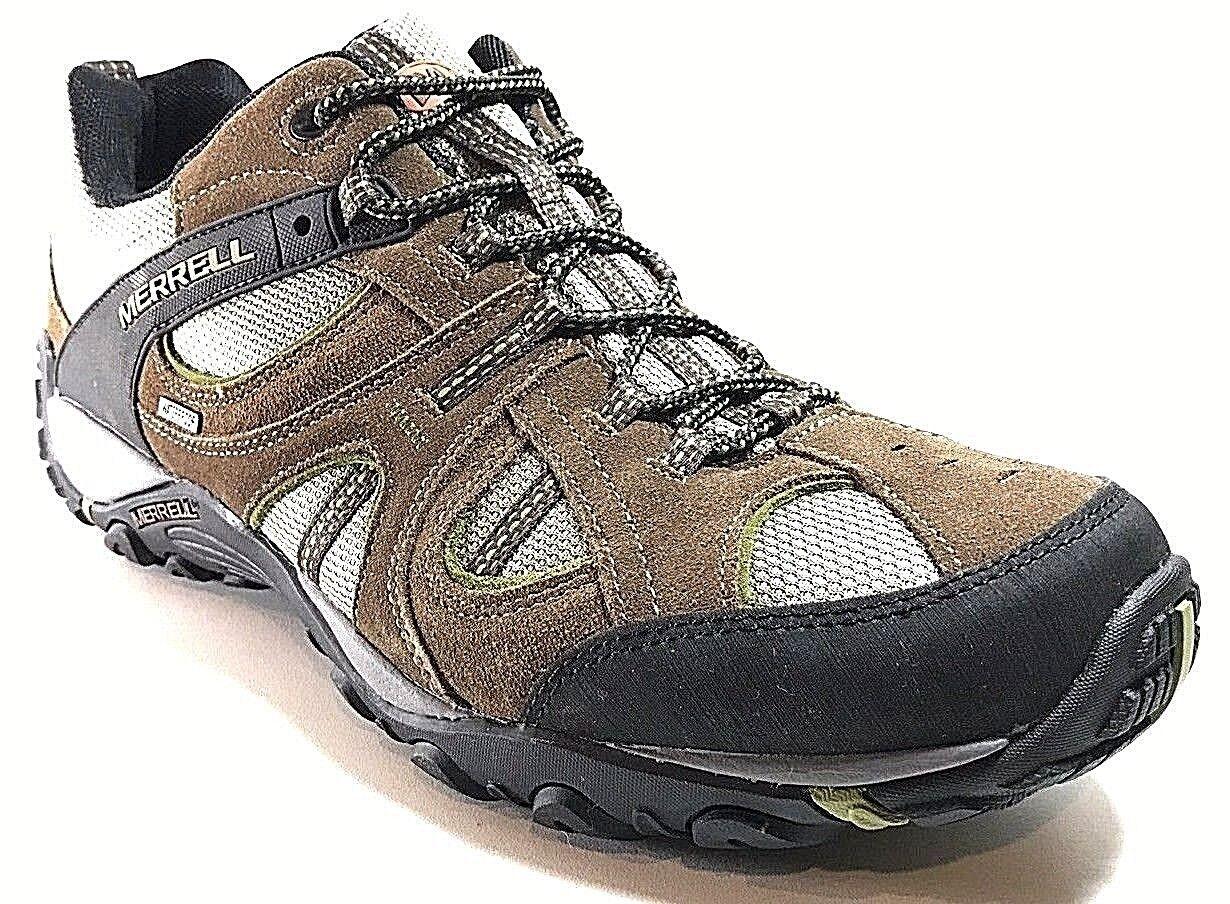 Homme Merrell Yokota Trail Chaussures De Randonnée Dk. Terre Terre Fonce Taille 13