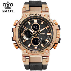 SMAEL-Men-Gold-Watches-Fashion-Digital-LED-Wristwatch-Big-Face-Male-Quartz-Watch