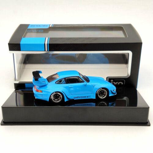 IXO 1//43 Porsche 993 RWB RAUH-WELT BEGRIFF BLUE MOC211 Limited Collection