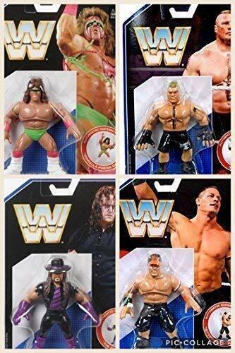 Wwe Alle 4 Komplett Neue Retro Aktion Mattel Serie 1 Wrestling-Figur Wrestler