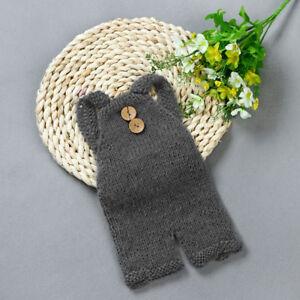 Bebe-tricot-crochet-Vetements-Mignon-Costume-Photo-Photography-Props-tenue-IX