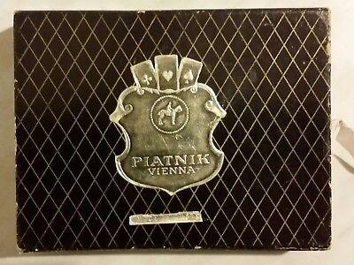 Piatnik Vienna Vecchie 110 Carte Da Gioco+scatola Originale Made In Austria