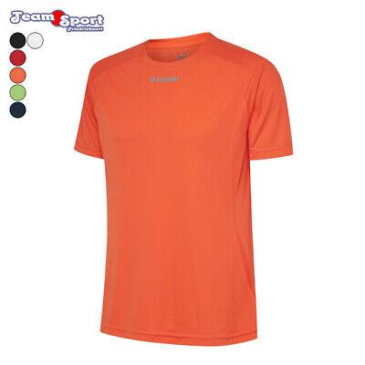 Herren Unisex Kurzarm T-Shirt Running Logo Ausdauer Laufen Jogging Cardio