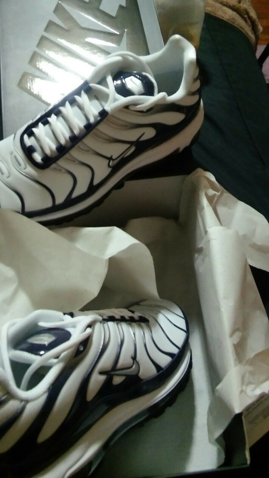 Nike air max   97 sz bianco / blu
