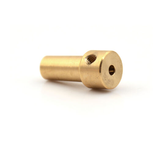 Brass 3.17mm Electric Drill Chuck JT0 Coupling Motor Shaft Coupler Clamp TEO B3C