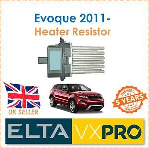 Fuer-Range-Rover-Evoque-2-0-2-2d-4x4-2011-Elta-Innenraum-Heizungsgeblaese-Widerstand