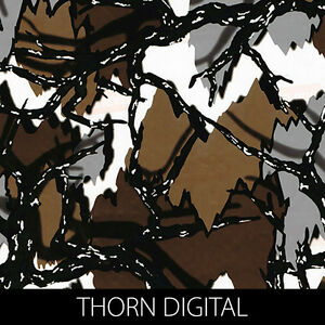 Thorn digital camo Hydrographic Film dip stick hydro hunting gun