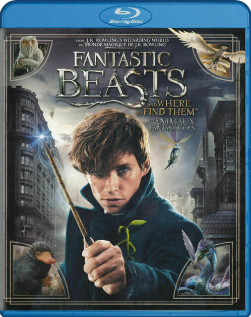 Fantastic Beasts & Where To Find Them ( Blu Ray/ DVD, 2016 )