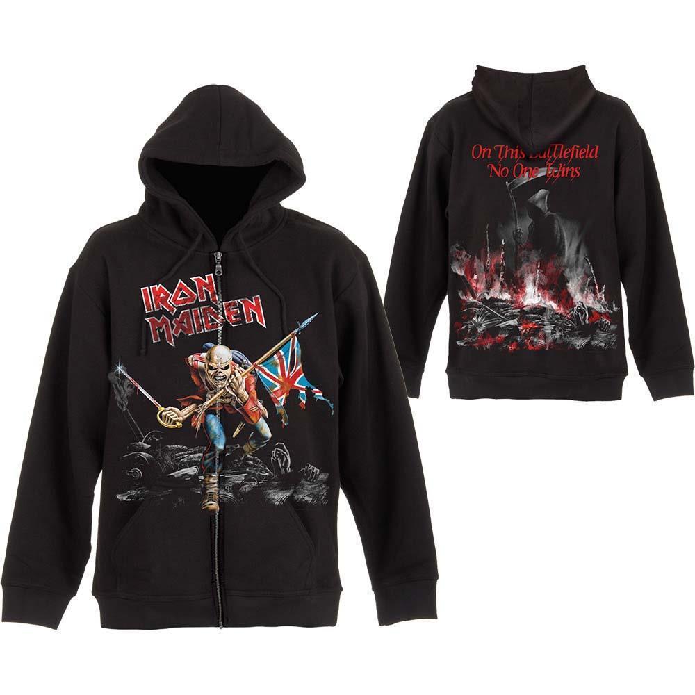Official lizensiert - Iron Maiden - abgewetzt Trooper Kapuzenpullover