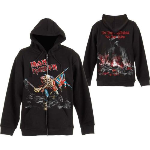 SCUFFED TROOPER HOODED SWEATSHIRT HOODIE IRON MAIDEN OFFICIAL LICENSED