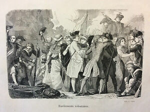 Enrolements-Volunteers-10064-French-1789-Philippoteaux-France