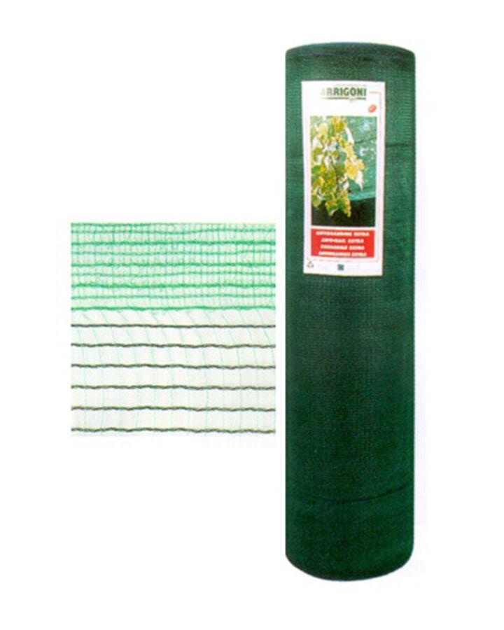 Rete antigrandine anti grandine  iride base  verde scuro ARRIGONI h. 8 x 100 m.