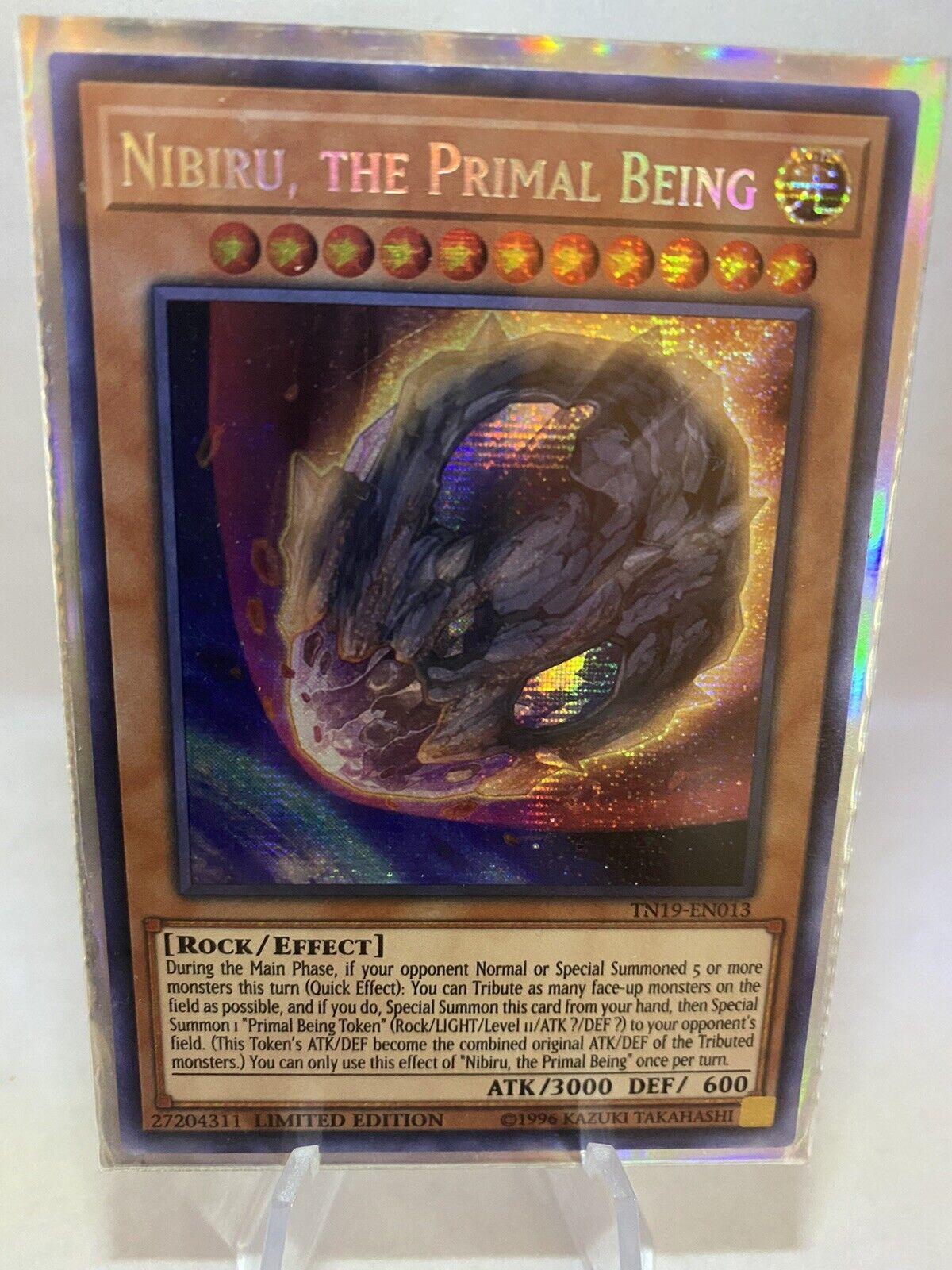 - NM Nibiru TN19-EN013 Limited Ed Prismatic Secret Rare The Primal Being