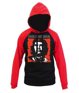 New Che Guevara Raglan Hoodie sweatshirt Cuba Cuban Revolution leader