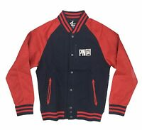 Parish Nation Navy/red Blouson Baseball Jacket