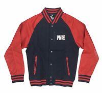 Parish Nation Navy/red Blouson Baseball Jacket