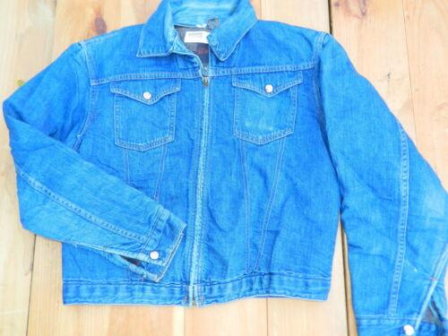 1970's Men's Montgomery Ward 101 Denim Jacket Est