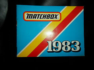 MATCHBOX-Toy-Catalogue-1983-Fully-Colour-Illustrated-Collectable