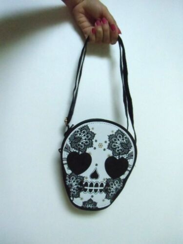 Skull Mexican Mexican Candy Pouch Rock Original Skull Handtas yNPvmnO80w