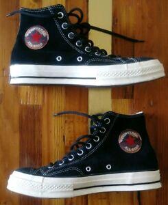 Converse Chuck 70 Hi Black/Egret Suede