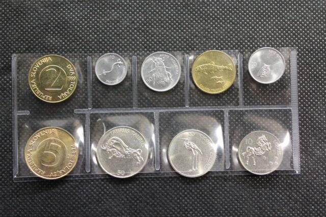 SERIE PRE-EURO MONETE EMESSE DALLA SLOVENIA