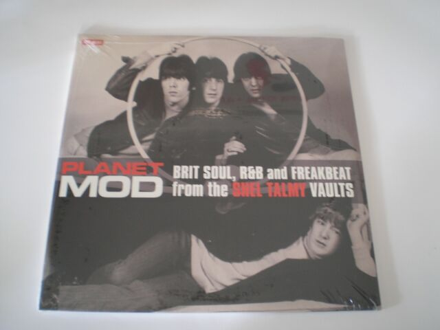 60s MOD BEAT - PLANET MOD - DOUBLE ALBUM 24 TRACK GATEFOLD SLEEVE -  NEW SEALED