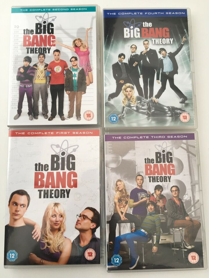 The Big Bang Theory, DVD, komedie