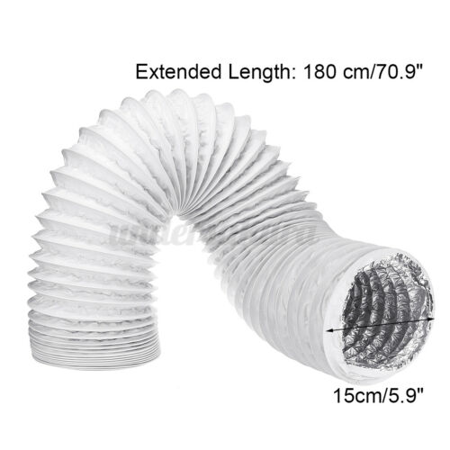 125mm//150mm Exhaust Hose Flexible Hose for Air Conditioning Mobile Air Conditioning Units
