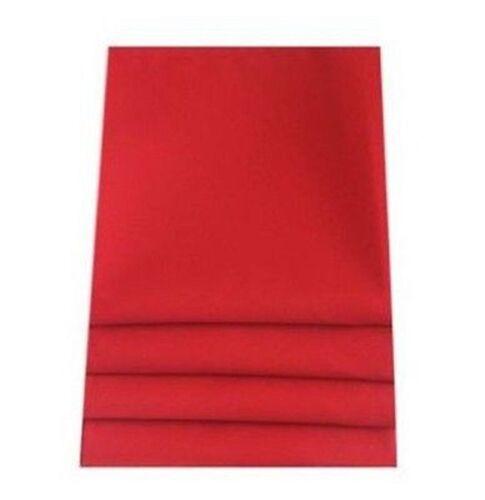 Sensación de lino de alta calidad rojo Servilleta-Juego de 4 6 o 8
