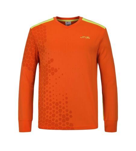 Janus Soccer Goalkeeper Jersey Top Goalie GK Shirt Long Sleeve Pads Youth Adult