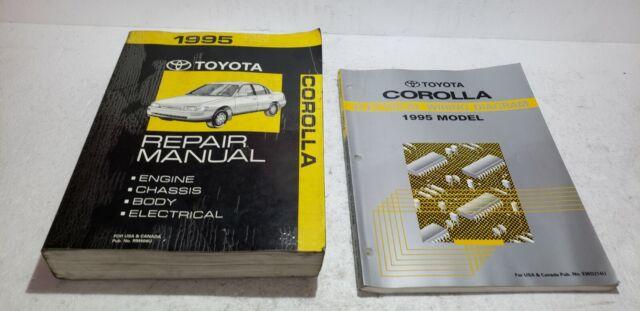 1995 Toyota Corolla Service Repair Manual  U0026 Electronic