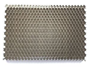 "25° Aluminum Honeycomb Grid - DIY - 2.5""x 3.5"" - Diffuser, Silver finish"