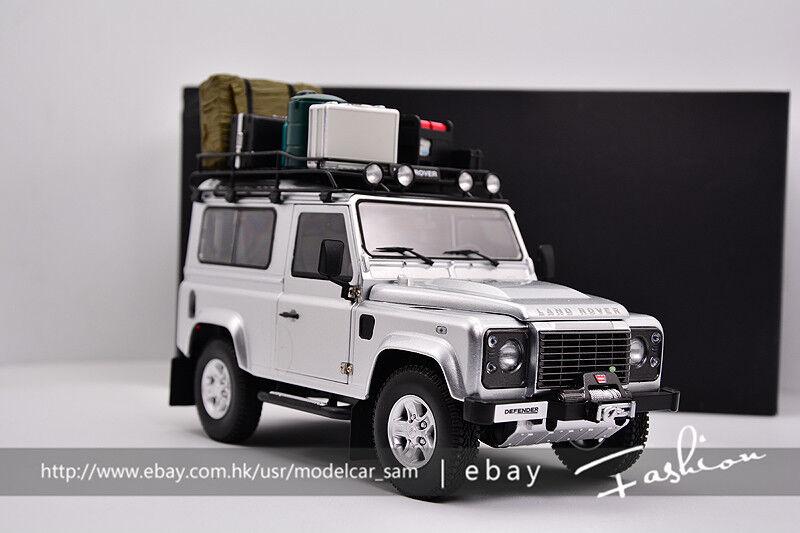 Kyosho 1 18 Land Rover Defender 90 Plata