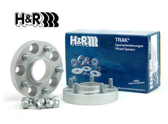 Distanzscheiben H/&R DRM Spurverbreiterung 40//50mm Set Toyota RAV Typ XA3