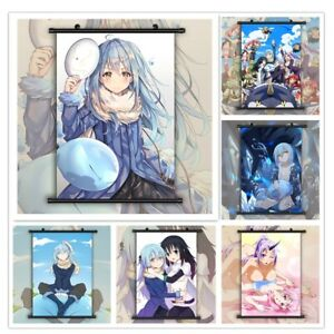 That Time I Got Reincarnated HD Canvas Print Wall Poster Scroll Room Decor