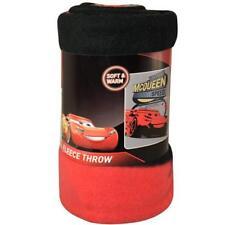 Disney Cars Blanket Fleece Throw Lightning McQueen 46 X60