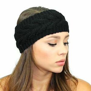 3766afe3ce4 Image is loading Kristin-Perry-Knitted-Sweater-Headband -Winter-Hair-Accessories