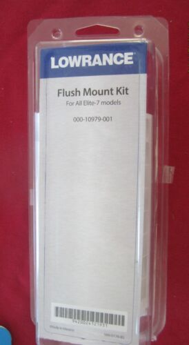 Lowrance Depthfinder Elite 7 Flush mount kit p# 000-10979-001