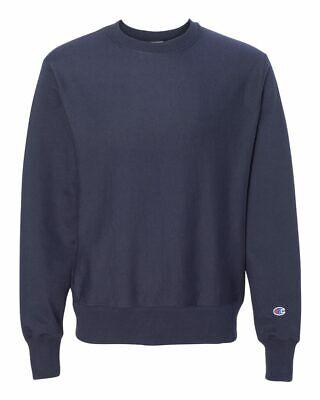 Champion Reverse Weave Crewneck Sweatshirt Pullover Athletic Adult Size New S149