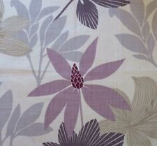 OSBORNE & LITTLE Walk in the Park Syon Floral Cream Mauve Grey Remnant New