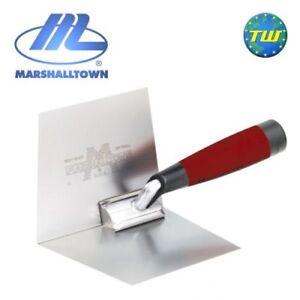 Marshalltown-M23D-4x5in-Plastering-Internal-Inside-Corner-Trowel-Stainless-Steel