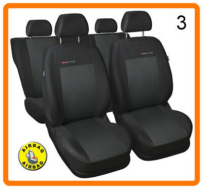 Car seat covers fit Citroen DS3 black//grey full set