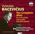 Vytautas Bacevicius: The Complete Mots (CD, Mar-2012, Toccata Classics)
