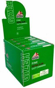 Box da 50 Libretti Cartine Gizeh Verdi Extra Slim Corte