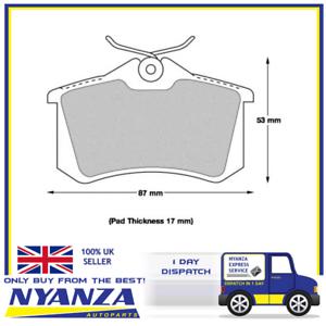 GENUINE-UNIPART-REAR-Brake-Pad-Set-GBP1797AF-Audi-Citroen-Ford-OPEL
