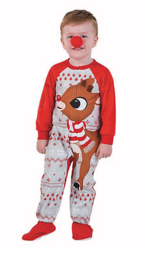 Briefly Stated Womens Rudolph The Red-Nosed Reindeer Plus Size Christmas Pajama