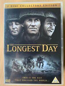 The Longest Day DVD 1962 World War II WW2 Movie Film Classic