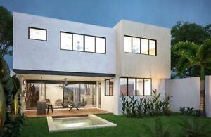 Casa en Venta en Mérida en excelente privada con amenidades.