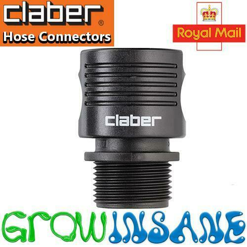 Claber Quick-Click Hose Adapter to 3/4