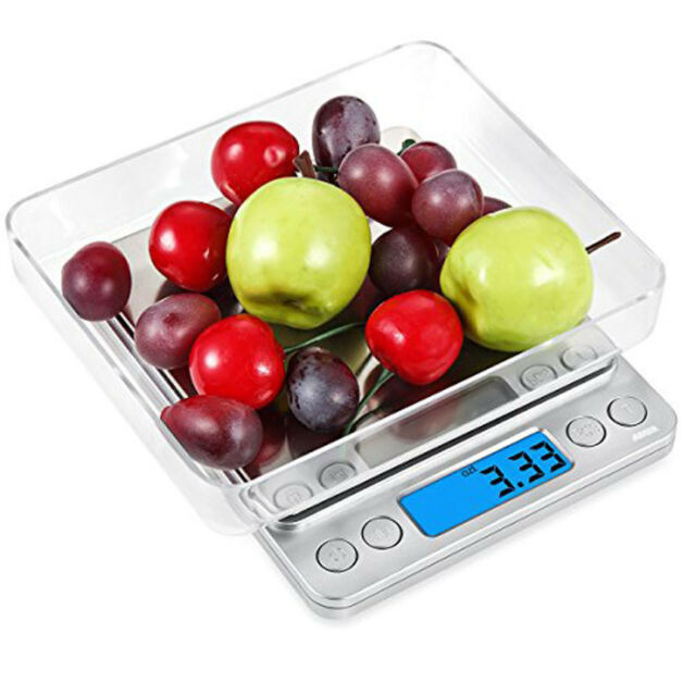 500g-0.01g Digital Pocket Gram Scale Jewelry Weight Electronic Balance Scale AS